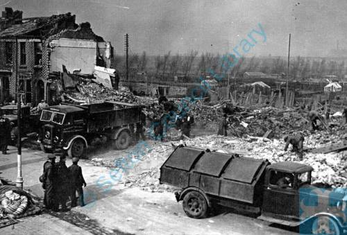 Bomb Damage Sandy Road Seaforth