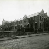 Balliol Road Senior School, bomb damage, Blitz
