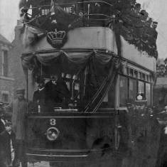 Opening of South Shields Electric Tramways