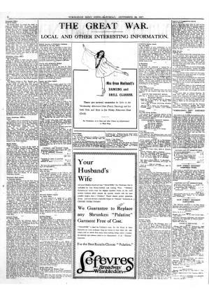 29 SEPTEMBER 1917
