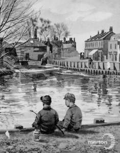 The Wandle at Merton Abbey