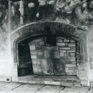 Bishopstone Court, Bishopstone, fireplace, 1934