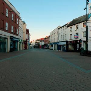 Deserted Commercial St., Hereford