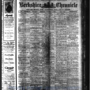 Berkshire Chronicle Reading 10-1920