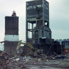Demolition of Wearmouth Colliery