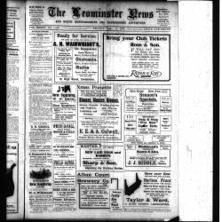 Leominster News - December 1916