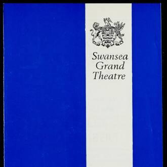 Grand Theatre, Swansea, November 1971