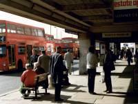 Morden Underground Station forecourt