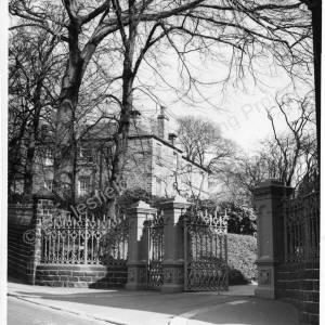 Lane End House Entrance 1960's.