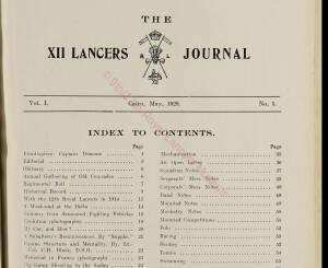 12th Lancers, 1928 May