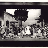 Photograph - 1958 Gaiety Whirl - cast
