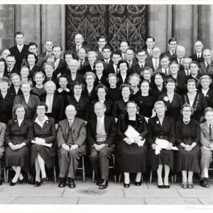 Three Choirs Festival, Gloucester Chorus, Worcester, 1957