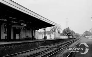 Haydons Road Station
