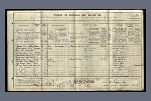 1911 Census for Cranmer, Mitcham