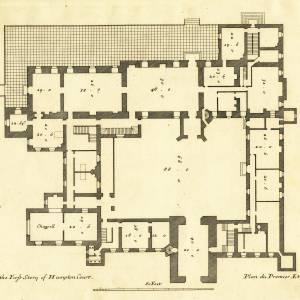 Hampton Court, Hope-under-Dinmore, first floor plans