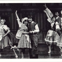 Photograph - unknown performers onstage