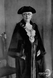 Lady Roney, Wimbledon councillor, 1933-35
