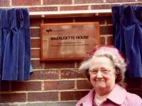The opening of Bazalgette House, Wimbledon 1983