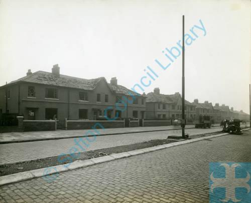 Aintree Road, bomb damage, Blitz