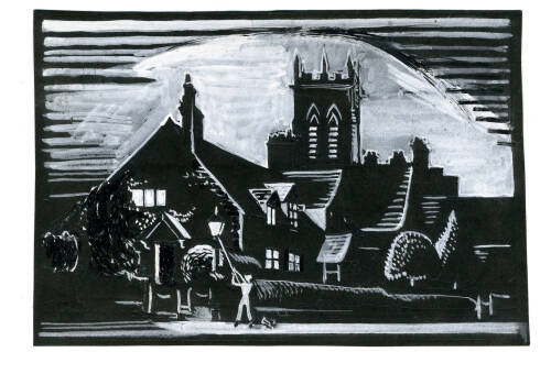 Lamplighter on Penny Hill by Dorothea Rowlinson