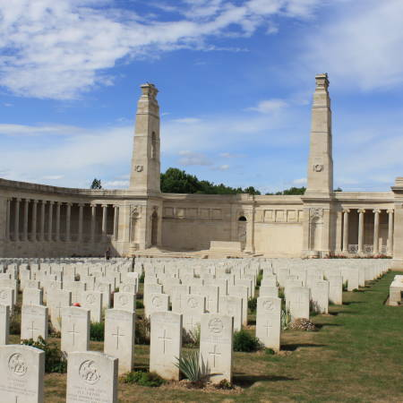 Vis en Artois British Cemetery
