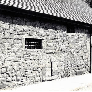St John Street, Hereford, barred windows