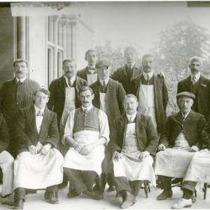 Estate Workers, Herefordshire, c1894