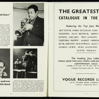 National Jazz Federation Royal Festival Hall - 1955 004