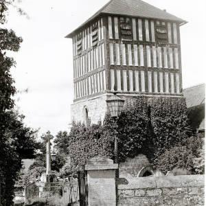 St Bartholomew's Church tower, Holmer, Hereford