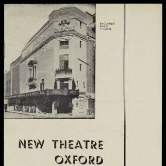 New Theatre, Oxford, August 1952 - P01