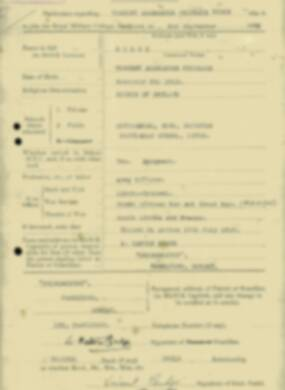 RMC Form 18A Personal Detail Sheets Jan & Sept 1932 Intake - page 10
