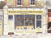 Leopold Road: Wimbledon Picture Framing Company