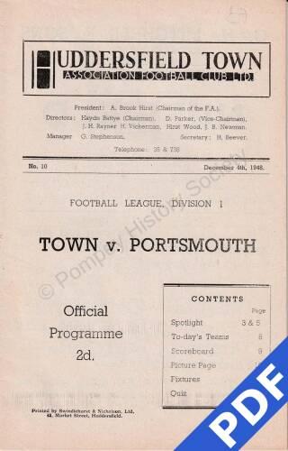 19481204 Huddersfield Away