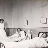 Lantern Slides of Scottish Women's Hospitals Units