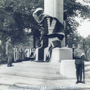 Unveiling of the Reading and Berkshire War Memorial, 27 July 1932.