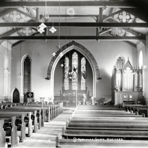 St Nicholas Church, Hereford, interior