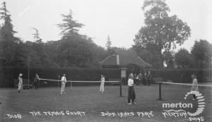 John Innes Park, Merton Park: Tennis Courts