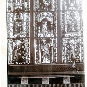 Eaton Bishop Church, detail of C14th Window