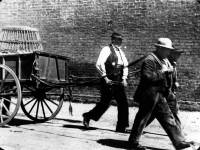 Wood sellers from the Holborn Union Workhouse, Mitcham