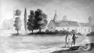 St Mary's Church, Church Path, Merton Park