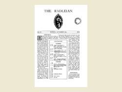 The Radleian 1930 - No. 511 November