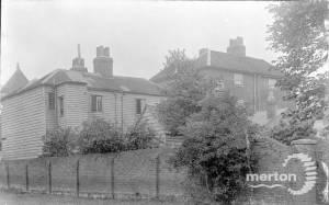 London House, London Road, Mitcham: Rear of