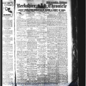 Berkshire Chronicle Reading 06-1914