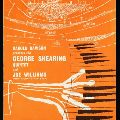 The George Shearing Quartet and Joe Williams, with the Junior Mance Trio, British Tour - September October 1962