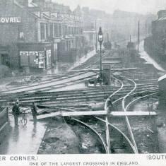 Chichester Corner - Tram Lines