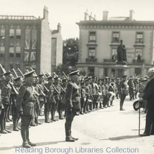 The Return of the 2nd Battalion Royal Berkshire Regiment on 17 May 1919