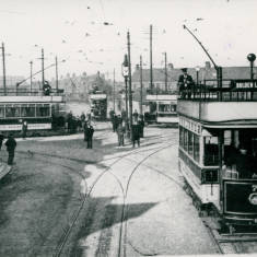 Tram Cars at Chichester Crossing