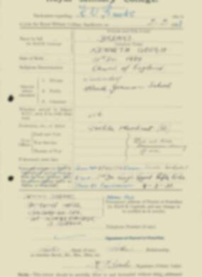 RMC Form 18A Personal Detail Sheets Feb & Sept 1933 Intake - page 18