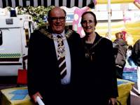 The Mayor of Merton at the European Car Free Day, Morden