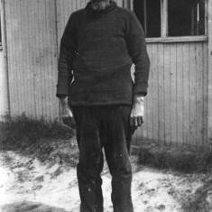 Walter Heckford in German POW Camp